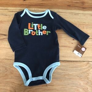 NWT Little Brother long sleeve onsie